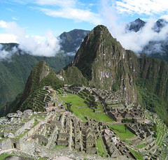 Before Machu Picchu (icelight) Tags: world vacation mountains peru machu picchu inca stone architecture ruins jungle andes herritage huayna wayna