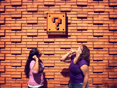 The block (EduardoEquis) Tags: real video nintendo juegos super mario games retro explore question block patty bros bloque videojuegos alfon