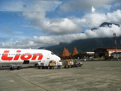 Lion Air at Sentani Airport