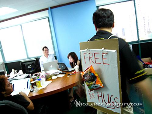 invading nuffnang office