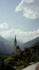 The church in Heiligenblut, Grossglockner in the background (Karen Kok) Tags: austria grossglockner strig heiligenblut