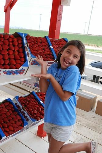 Mmm, strawberries
