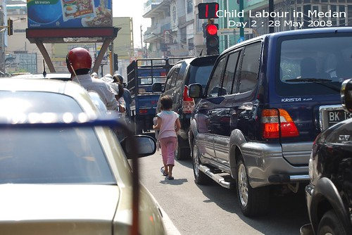 Child Labour : Usual Sigh in Medan