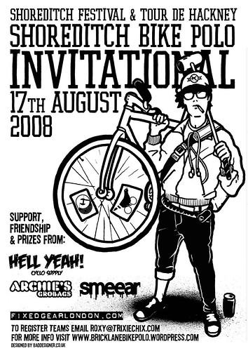 1st shoreditch bikepolo invitanional