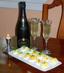 Deviled Eggs for a Romantic Evening for Two