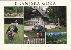 Kranjska Gora, Slovenia (Bubble-Gum II) Tags: postcard postcrossing collection bubblegum