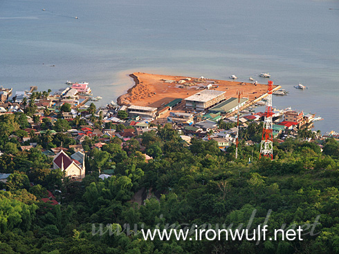 Overlooking Coron Town and Waterfront