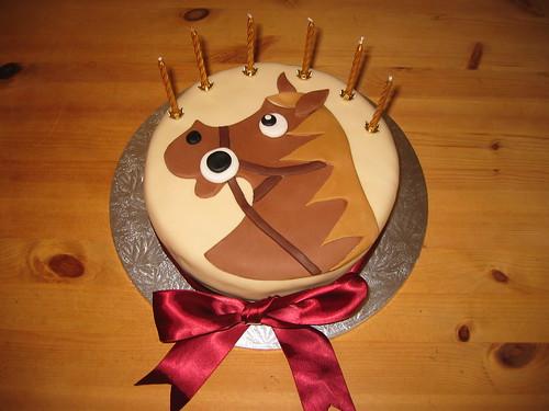 Horse S Head Beautiful Birthday Cakes