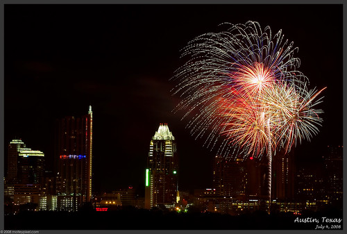 fireworks in Texas