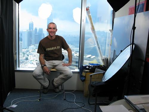 At the Associated Press Hong Kong Office in Hong Kong