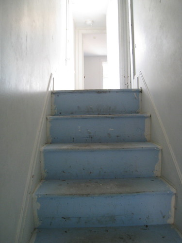Bare Stairs Up To The Third Floor