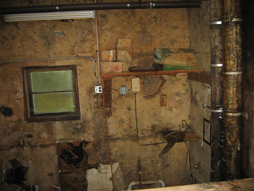 The mystery utility area