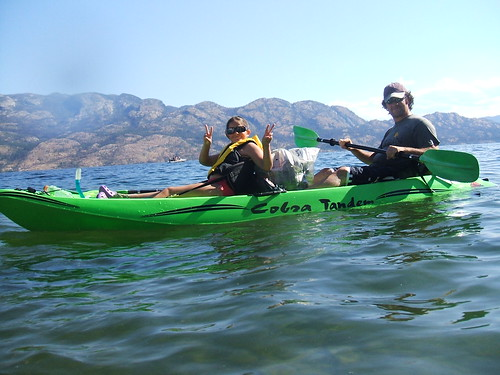 Kayaking....