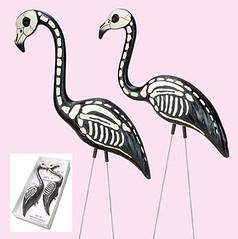 Skel-E-Flamingo