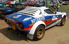Lancia Stratos (Si 558) Tags: classic sports car festival club vintage rally racing historic silverstone series masters 2008 lancia vscc stratos sorts rothmans hscc