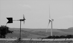 Any way the wind blows (stuant63) Tags: wind dundee angus vane turbine oldandnew murroes stuant63 stuartanthony