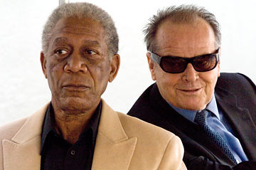 Jack Nicholson and Morgan Freeman in The Bucket List