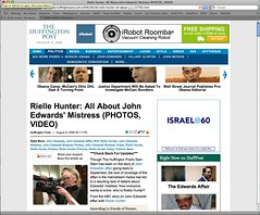 Huffington Post 080808 Rielle Hunter