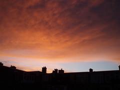 Sunset in the city (Frans Schmit) Tags: sunset denhaag thehague fransschmit