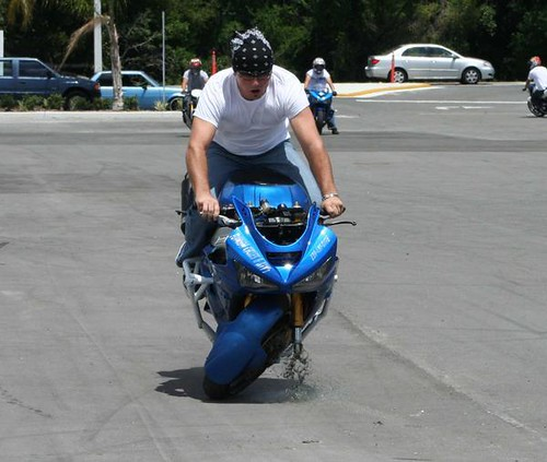 Motorcyclist vs. Pavement