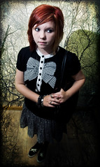 In Peril (PhilB_PbArtWorks) Tags: portrait art illustration canon dark gothic mysterious horror brooding timburton thriller philb