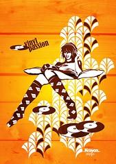 vinyl passion (.krayon) Tags: vectorart vinyl passion illustrator krayonstyle