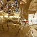 "Life on Mars, the 2008 Carnegie International: interior of Thomas Hirschhorn's ""Cavemanman"""