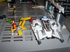 013-Republic-Base (Brick_Alchemist) Tags: set starwars lego crane legos jedi minifigs custom base droid spareparts droids moc speeders snowspeeder bwing