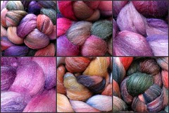 Spinning Stash collage