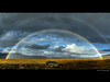 A gate of color (Rob Orthen) Tags: autumn sky panorama fall norway clouds landscape norge rainbow nikon rocks europe d70 hiking august rob lapland scandinavia hdr tundra maisema lappi syksy thenorth norja sateenkaari regnbåge taivas vaellus photomatix elokuu tonemapping hdrpanorama orthen roborthenphotography