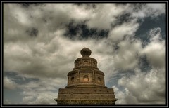 We are Divine enough to ask and we are important enough to receive. - Wayne Dyer (flickrohit) Tags: sky india clouds trek temple god fort maharashtra rohit thepca malhargad rohitgowaikar ppdec08core