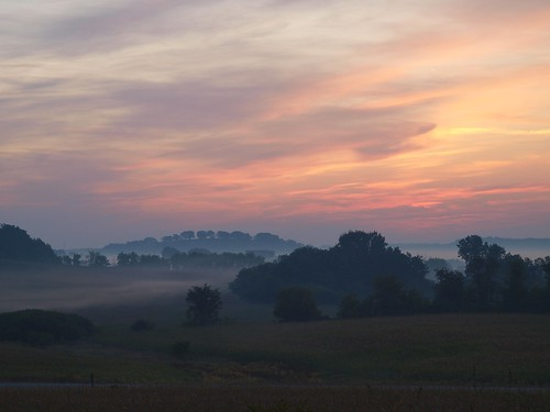 Wisconsin Countryside at Dawn