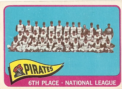 Pirates Team Card by you.