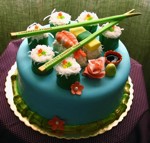 Sushi Cake II