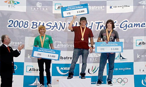 Gary Young wins Busan TreX Games