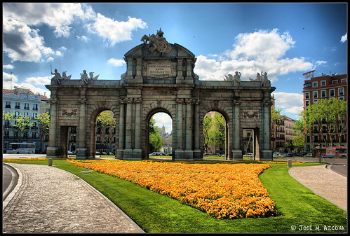 Madrid. Puerta de Alcalá