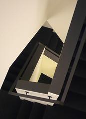 escher-like (Lucsaflex) Tags: lines architecture modern stairs maastricht geometry explore escher trap escaleras architectuur trapgat escherlike piazzacramique aplusphoto jojanssen boschcour tesseracteffect