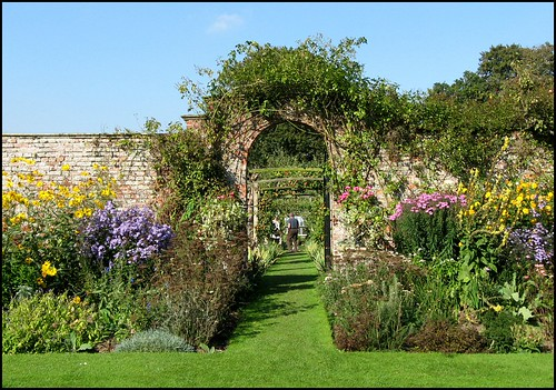 Gardens, Gunby Hall, Lincolnshire