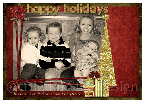Christmas Card Example, 7x5, full size