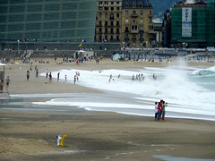 Wave (Luca Strenghetto) Tags: ocean luca spain san surf italia sebastian wave spiaggia donostia padova noventa trapez lucignolo padovana strenghetto