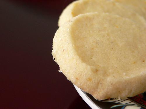 Zitronen-Muskat-Kekse