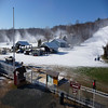 Early season snow at Mount Southington