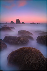 Indian Beach Twilight Affair (kevin mcneal) Tags: ocean water oregon landscape coastal oregoncoast kevinmcneal