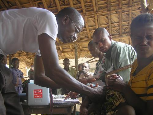 vacination campaign in Obenge