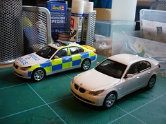 South Wales Police BMW 530D Road Policing Units (alan215067code3models) Tags: road wales south police bmw units policing 530d