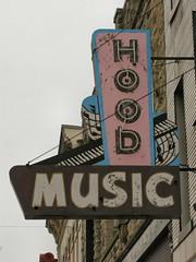RIP - Hood Music (altfelix11) Tags: mainstreet indiana richmond neonsign vintagesign vintageneonsign hoodmusic