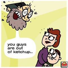 man in attic (goopymart) Tags: news man strange fun weird ketchup goopymart goopy goop attic