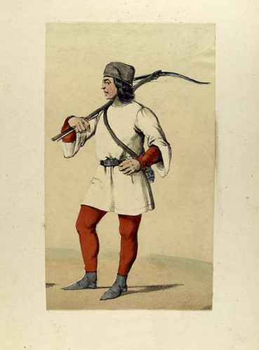 006-Ballestero Gallego de mesnada de ciudad año 1350