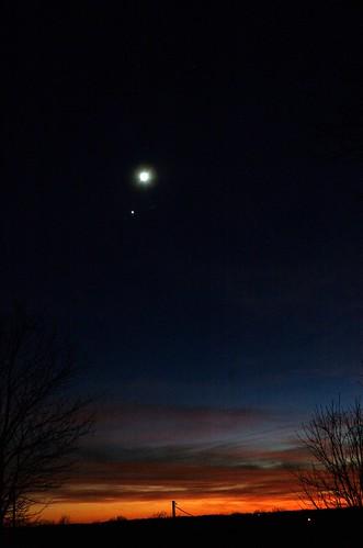 Venus-Moon Conjunction NYE 2008
