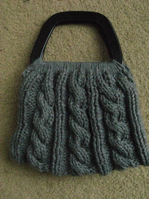 cabled purse 2